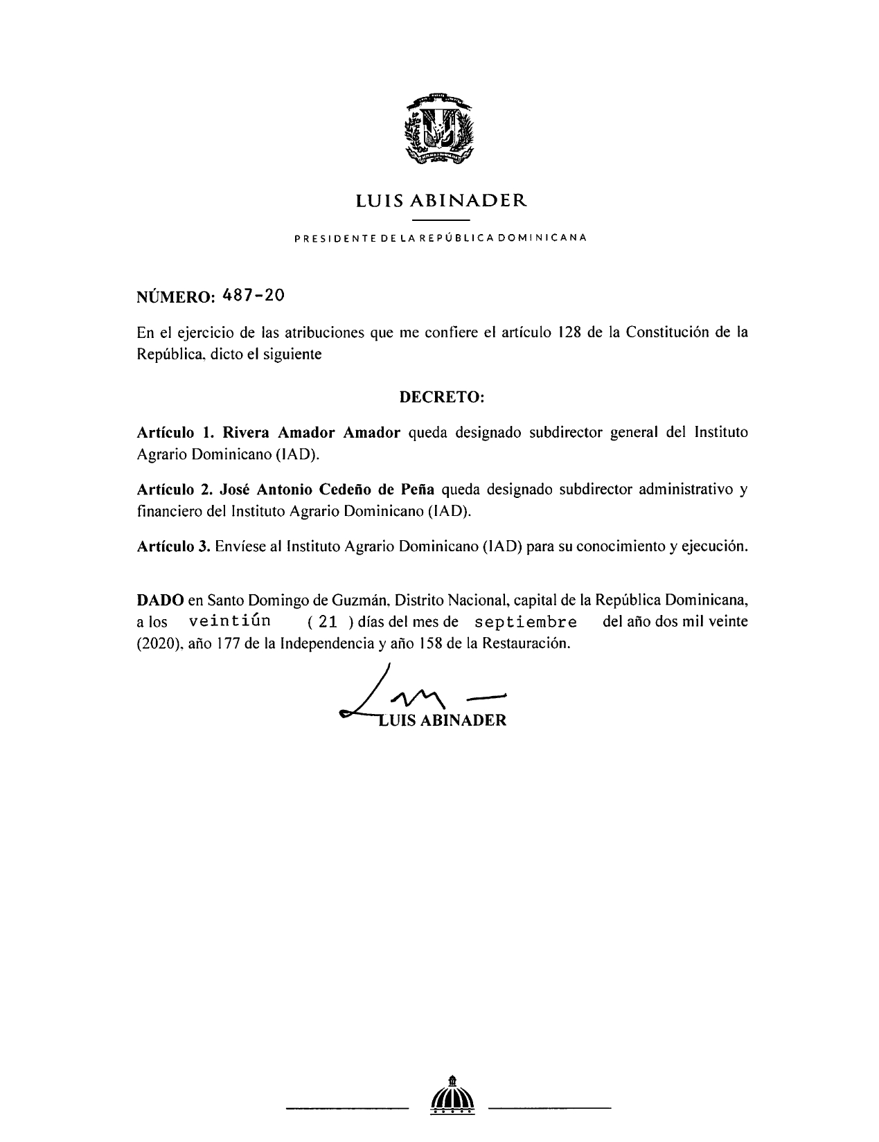 decreto 487-20
