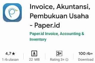 aplikasi bisnis online paper id