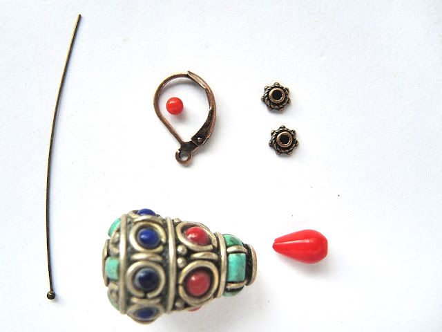 free tutorial for earrings by moois van m(i)e