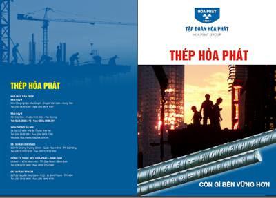 Catalogue Thép Hòa Phát.