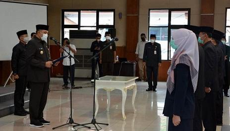 Perubahan SOTK Pemkab Tangerang Kukuhkan Pejabat Baru
