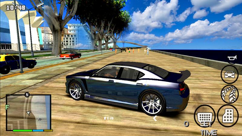 GTA V MOD v10 (410MB)│Đồ Họa HD@60fps│ Bản MOD Monster & Nhiều siêu xe + Vip CLEO » Hỗ trợ ALL GPU│