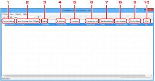 PIXMA TS8140 IJ Network Device Setup Utility