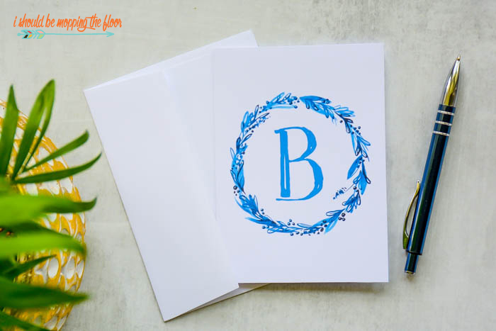 Watercolor Monograms