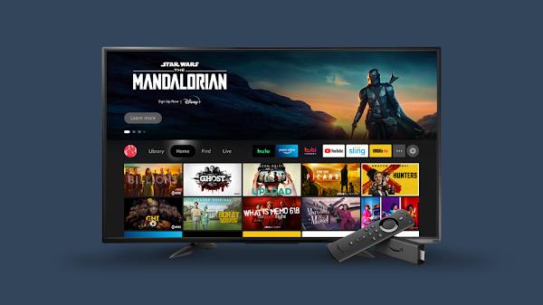Amazon lançará nova interface de utilizador Fire TV para Fire TV Stick 4K e Fire TV Cube no próximo mês