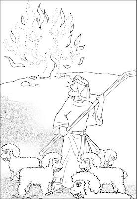 ME ABURRE LA RELIGIÓN: DIOS HABLA CON MOISÉS. LA ZARZA