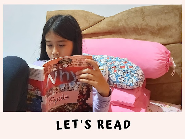Let's Read, Cara Tepat Tumbuhkan Minat Baca Anak