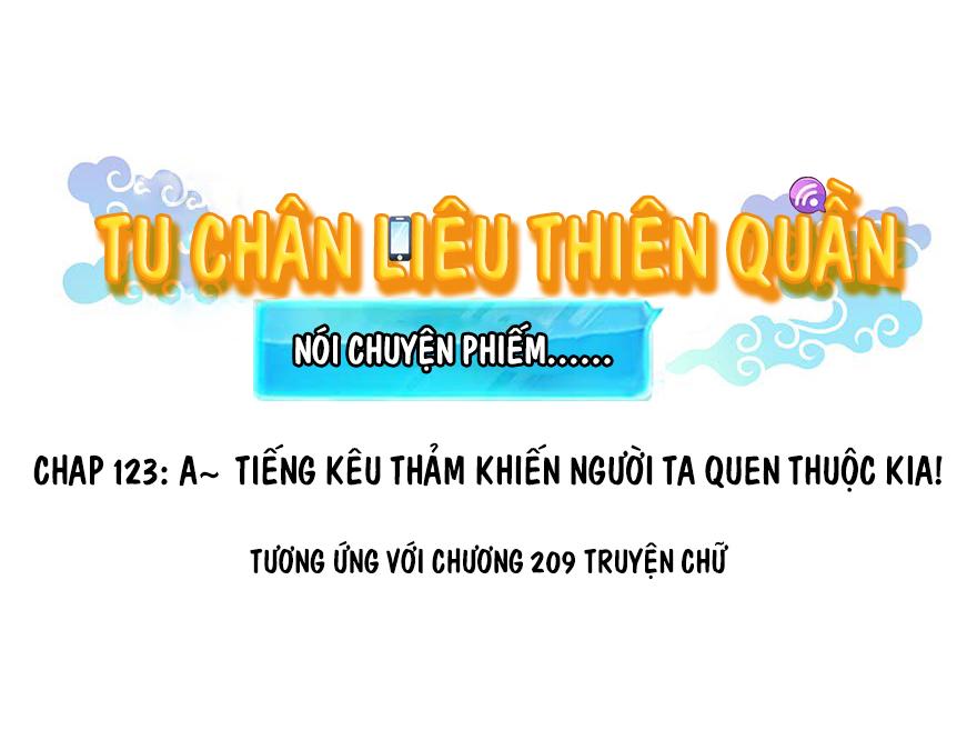 Tu Chân Nói Chuyện Phiếm Quần Chapter 123 video - Hamtruyen.vn