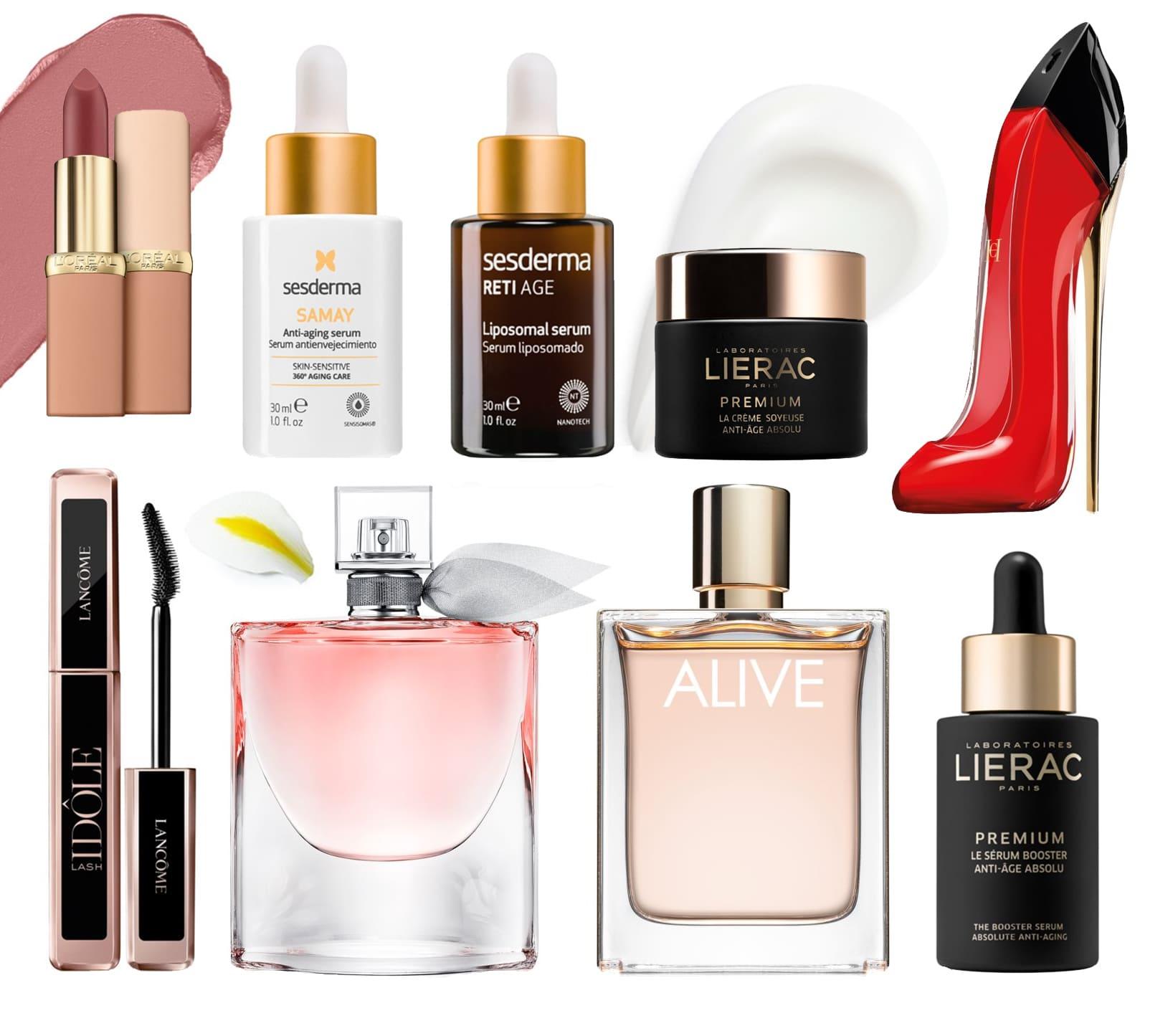 sugestões de presentes para mães da Notino, inclui perfumes, batons e máscaras