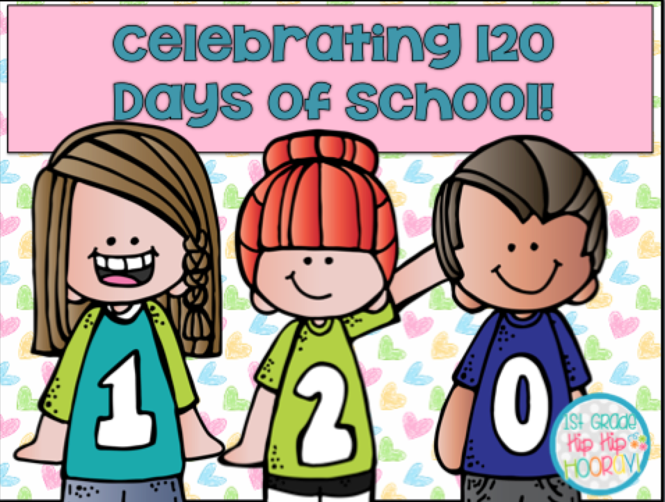 1st Grade Hip Hip Hooray 120 Days Of School Cool