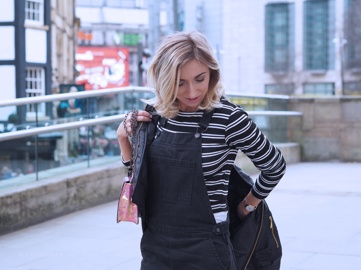 Striped Primark Top - Rock On Holly Blog