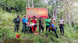 Babinsa Bersama Bhabinkamtibmas Dan Perhutani Lakukan Patroli Hutan