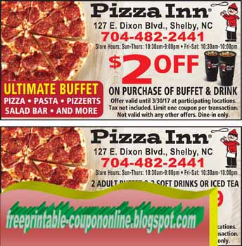 printable coupons 2018 pizza inn coupons. Black Bedroom Furniture Sets. Home Design Ideas