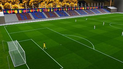 PES 2021 Stadium Estadio Nuevo Ganzábal