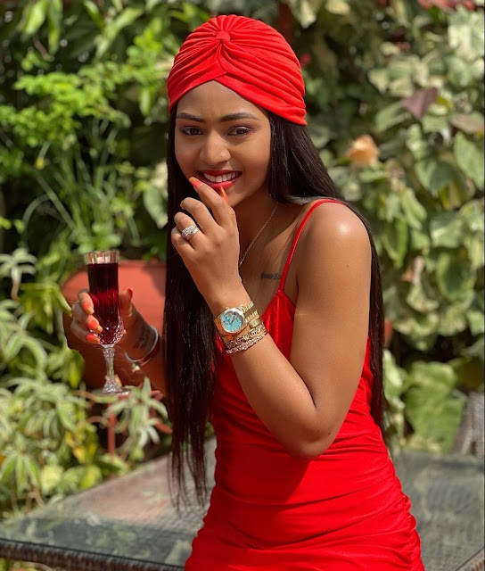 Lady In Red! Regina Daniels Slays In All Red As She Drops New Week Motivation