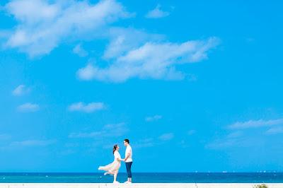 沖縄 新婚旅行 ロケーションフォト