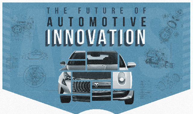 The Future of Automotive Innovation #infographic