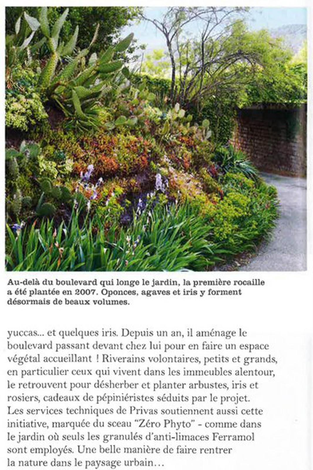 Boulevard de b signoles vers un boulevard jardin l 39 ami des jardins et de la maison de fevrier 2016 - L ami des jardins et de la maison ...