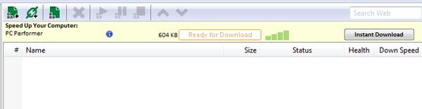 uTorrent with Ads Screenprint