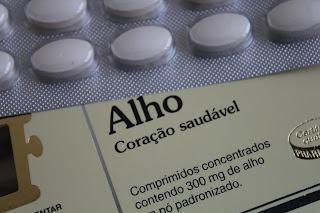 O alho e os outros medicamentos