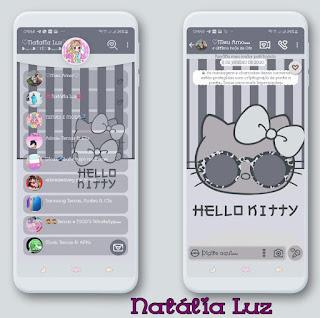 Hello Kitty Theme For YOWhatsApp & Fouad WhatsApp By Natalia Luz