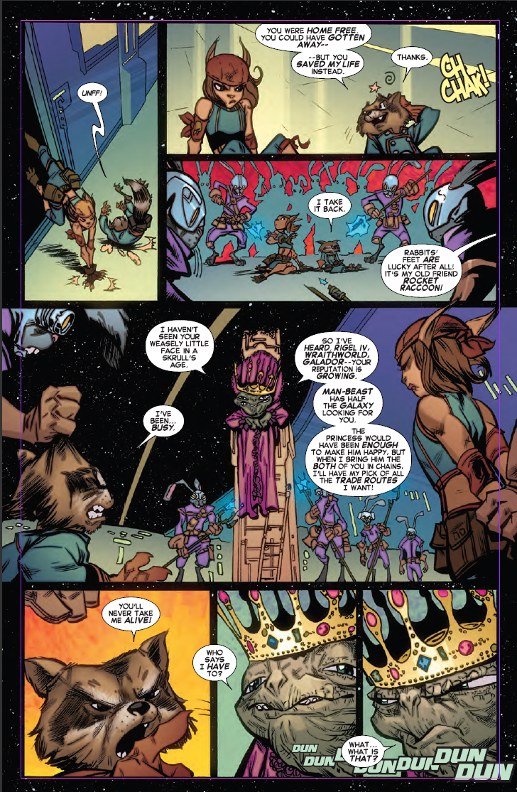 COMICS: Preview Joe Caramanga's Upcoming ROCKET RACCOON Comic
