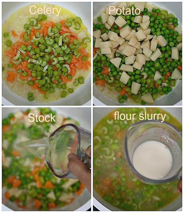 how to make chicken pot pie soup from scratch