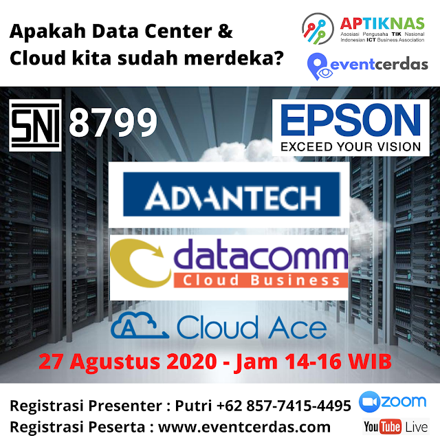 APTIKNAS MERDEKA IT INDONESIA - DATA CENTER & CLOUD - 27 AGS 2020