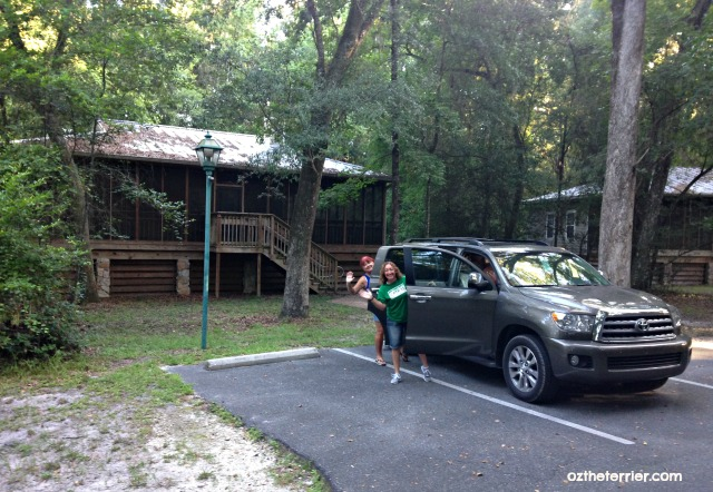 Toyota Sequoia 2016 at suwannee river state park