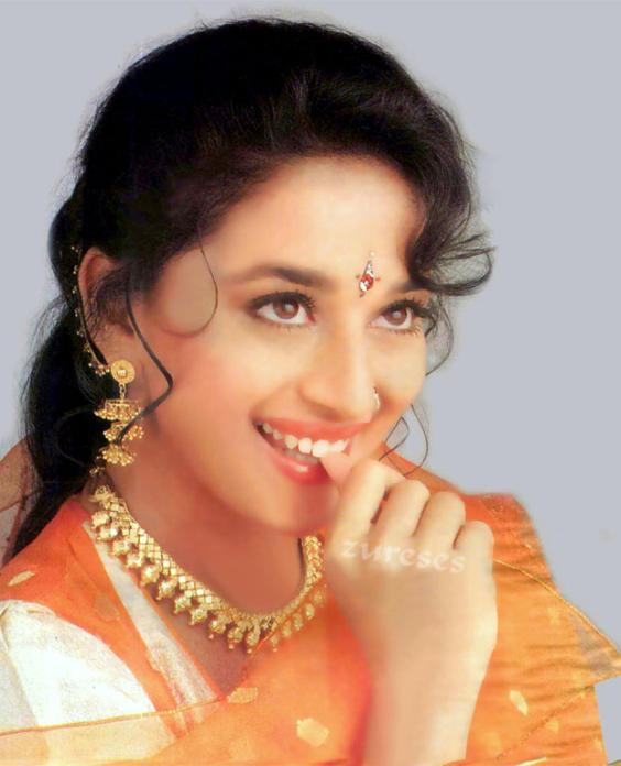 Entertainment World Madhuri Dixit Old Wallpapers