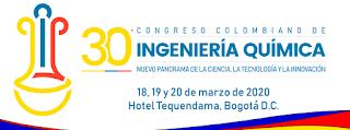 30 Congreso Colombiano de Ingeniería Quimica