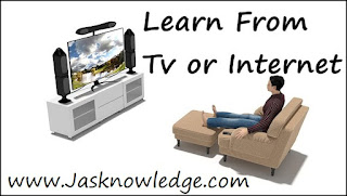 learn english from tv and internet