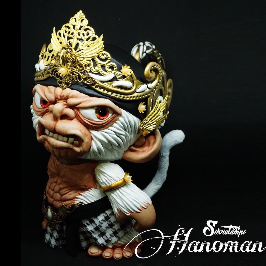 Hanoman Custom Munny By Silvia Tampi