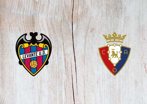 Levante vs Osasuna -Highlights 29 September 2019