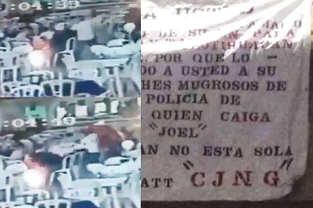 VIDEO.- El Fiscal ejecutado ya había sido amenazado por el CJNG no hizo caso y le dieron muerte.