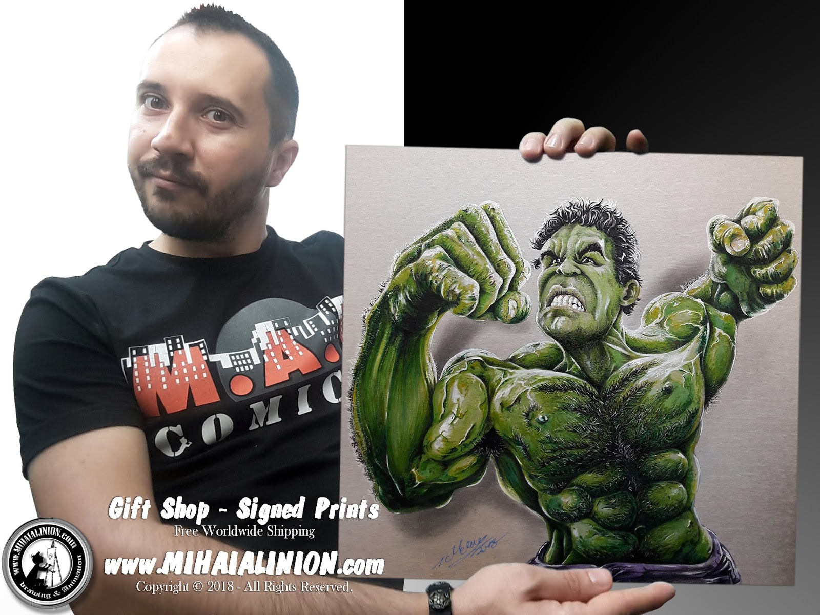 Drawing Hulk, Drawing The Incredible Hulk, Drawing Bruce Banner, Hulk Smash, Drawing Mark Ruffalo, Hulk The Movie, Thor Ragnarok, Marvel`s Incredible Hulk, Hulk ComicBook, How to draw Hulk, Hulk pencil drawing, Stan Lee, Avvengers, Jim Lee, Supervillain, Marvel Heroes, Jack Kirby, MAI Comics, Mihai Alin Ion, art by mihai alin ion, Drawing Marvel, Marvel versus DC, Marvel Comics, DC Comics, Gerry Conway, how to draw, artselfie, drawing ideas, free drawing lessons, drawing tutorial, art, dessin, disegno, dibujo, drawing Marvel heroes, drawing, illustration, painting, design, realistic 3d art, coloured pencils, www.mihaialinion.com, 2018, pencil drawing, tempera, acrilics paint, marker, gouache painting, mixed media, comics, comic book, caricature, portrait, cum sa desenezi, caricaturi mihai alin ion, caricaturi si portrete  la comanda, eveniment caricaturi, caricaturi la nunta, caricaturi la botez, caricaturi la majorat, desene pe pereti, desene pentru copii, ilustratie carte, benzi desenate, caricaturi, portrete, comanda caricaturi