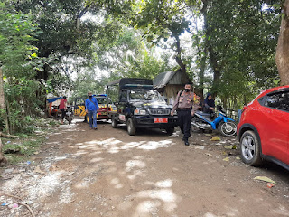 Patroli Gabungan Tim Gugus Covid 19 Sasar Sungai Magguliling