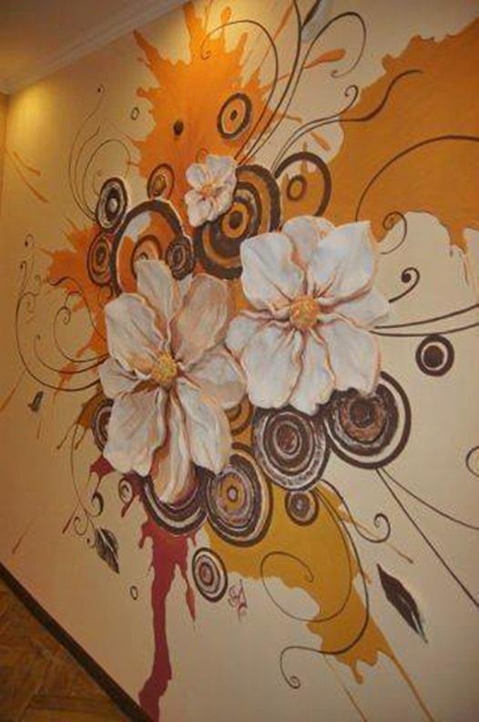 artystycznie malowane sciany