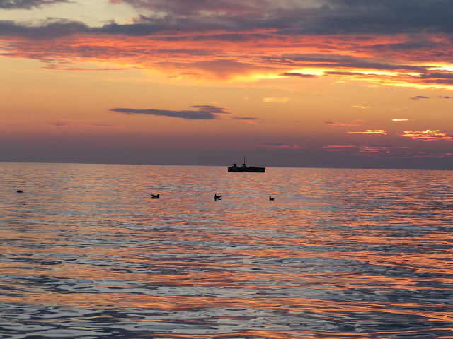 What to see in Trieste: the sunset over the Adriatic Sea