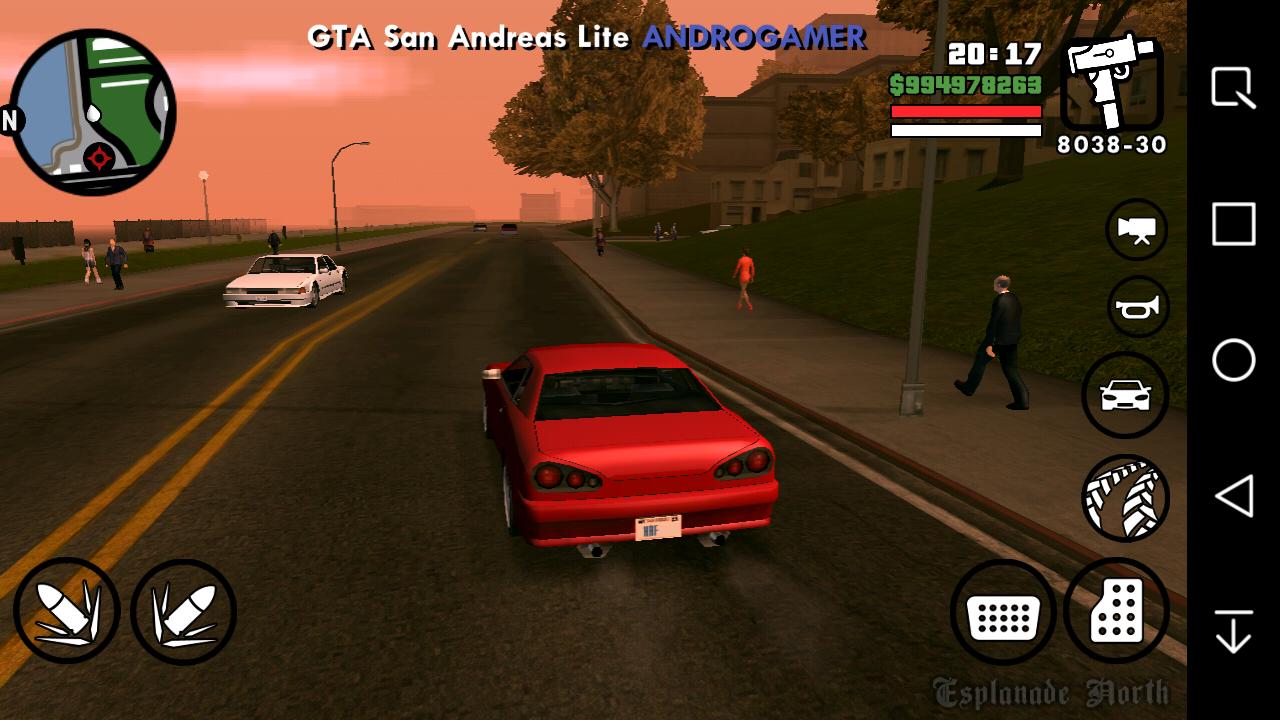 GTA SA LITE v4 - 400MB (Compactado) - Android - ANDROGAMER