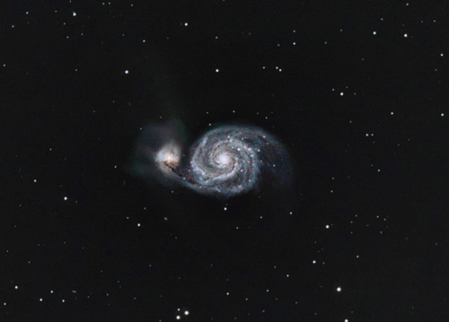 Astrophotography - The Whirlpool Galaxy
