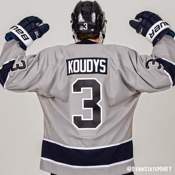 quality design 627b7 ca37e Hockey Blog In Canada: New Nittany Lions