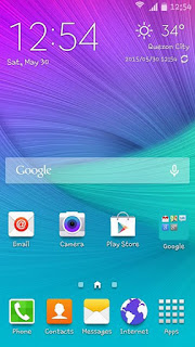Nameless Samsung Galaxy Rom for CUBIX Cube Preview 1