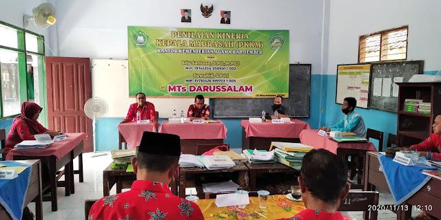 Pelaksanaan PKKM MTs Darussalam Tahun 2020