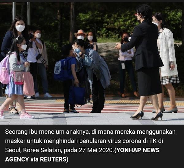 Kasus Covid 19 di Korea Selatan saat new normal