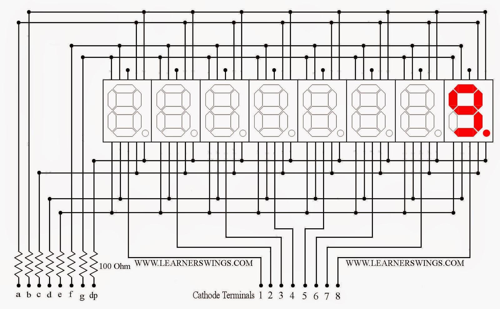 Improve the Brightness of a Cluster of Seven Segment