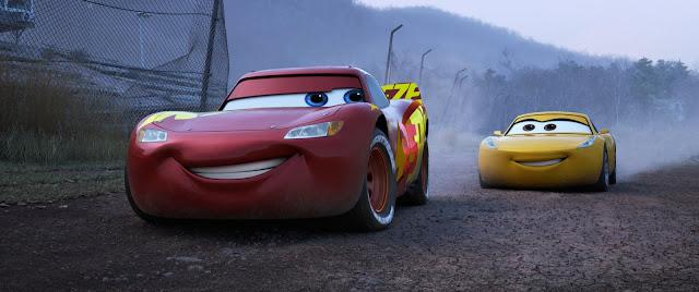 Cars 3:Rayo y Cruz entrenamiento