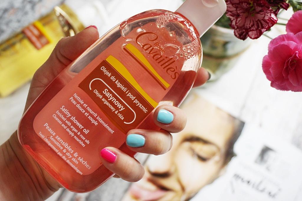 dermokosmetyk Roge Cavailles satynowy olejek do mycia ciała skóra sucha i wrażliwa