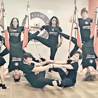 formation yoga aérien, cours yoga aérien, stage yoga aérien, formation enseignants yoga, formation aero yoga, pilates aérien, fitness aérien, formation professionnelle