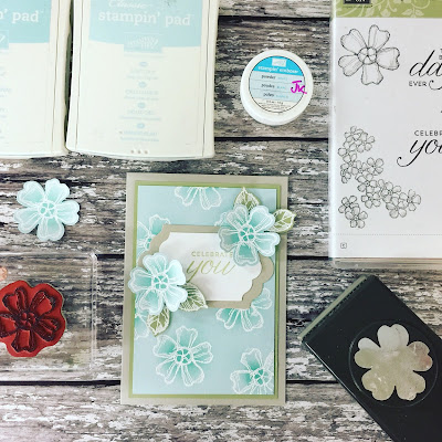Birthday Blossoms Embossed Video Tutorial